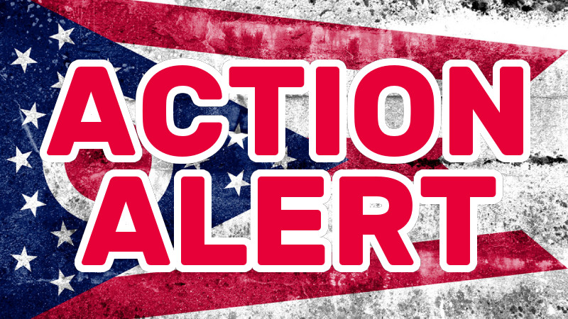 Action ALERT: Ohio Senate Committee Moves to Advance Gun-Control Bill