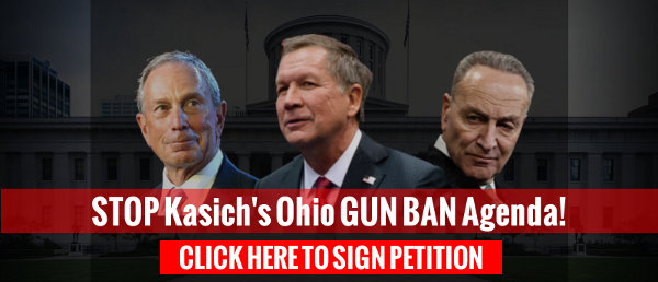 UPDATE on SB260, Kasich's Gun-Ban Legislation - and MORE gun-control about to be introduced!