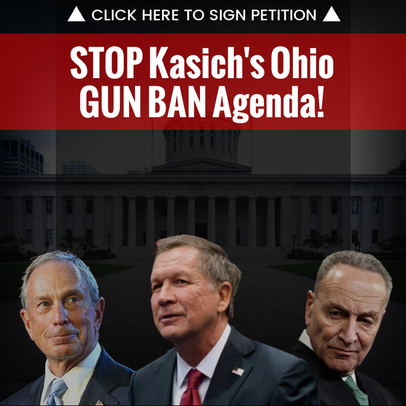 Ohio ALERT: Comprehensive Gun Ban Introduced in Ohio with Kasich Support