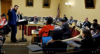 OGO Offers Pro-Gun Testimony to House Gun Bill Committee!